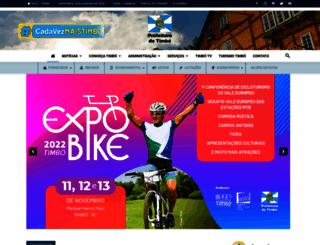 timbo.sc.gov.br screenshot