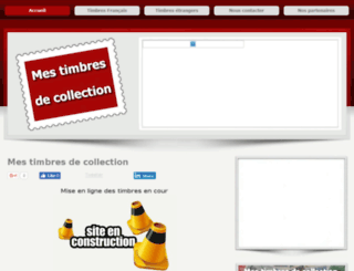 timbres-collection.info screenshot