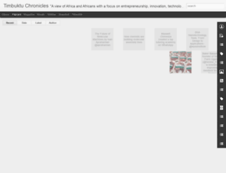 timbuktuchronicles.blogspot.com screenshot