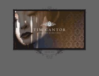 timcantor.com screenshot