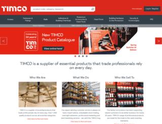timco.co.uk screenshot