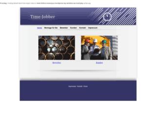 time-jobber.com screenshot
