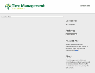 time-management-solutions.com screenshot