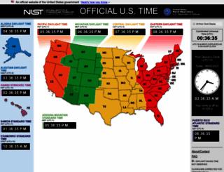 time.gov screenshot