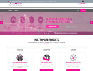 time.net.my screenshot