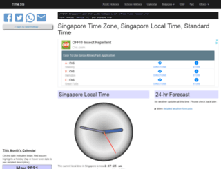 time.sg screenshot