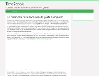 time2cook.fr screenshot