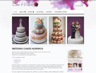 time4cakes.com screenshot