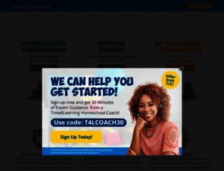 time4learning.com screenshot