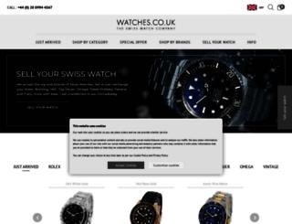 time4watches.co.uk screenshot