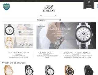 timebay.dk screenshot