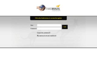timebrazil.cangooroo.net screenshot