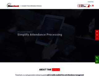 timechecksoftware.com screenshot