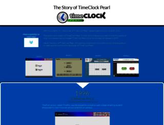 timeclockpearl.com screenshot