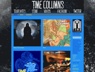 timecolumns.bandcamp.com screenshot