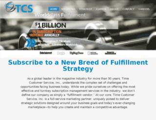 timecustomerservice.com screenshot