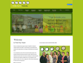 timeflystravel.com.au screenshot