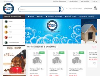 timeforpet.com screenshot