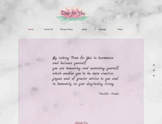 timeforyoumassage.com screenshot