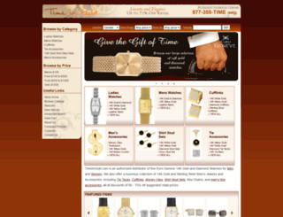 timeingold.com screenshot