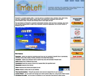 timeleft.info screenshot
