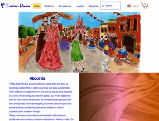timelesspieces.com screenshot