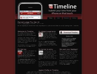 timeline.publicisgroupe.com screenshot