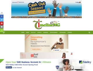 timelineng.com screenshot