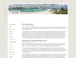 timelooptheory.com screenshot