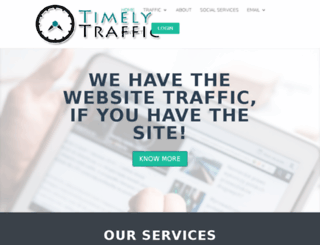 timelytraffic.com screenshot