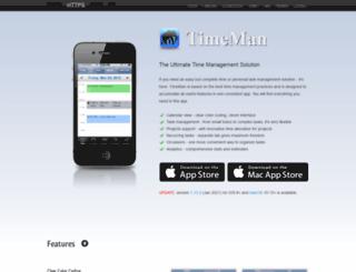 timeman.org screenshot