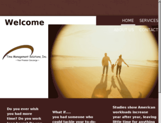 timemanagementsolutionsinc.com screenshot