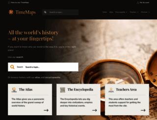 timemaps.com screenshot
