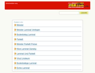 timemeister.org screenshot