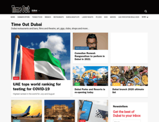 timeoutdubai.com screenshot