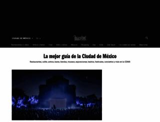 timeoutmexico.mx screenshot