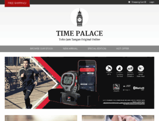 timepalace.co.id screenshot