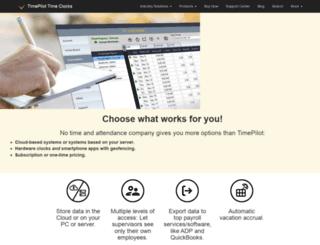 timepilot.com screenshot