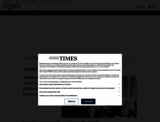 times-series.co.uk screenshot