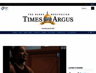 timesargus.com screenshot