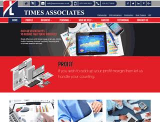 timesassociates.co.uk screenshot