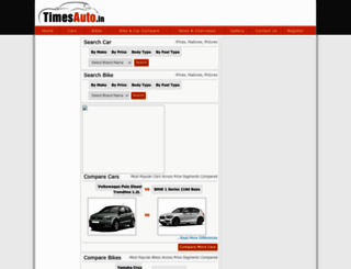 timesauto.in screenshot