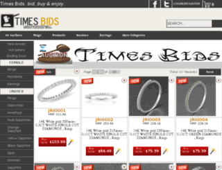 timesbids.com screenshot