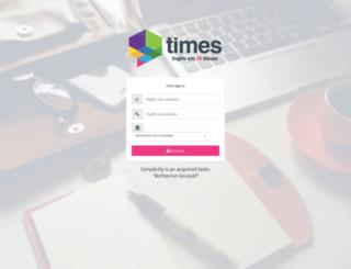 timescontroller.com.br screenshot
