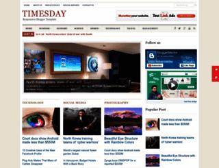 timesday-bt9.blogspot.com screenshot