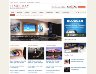 timesday-bt9.blogspot.no screenshot