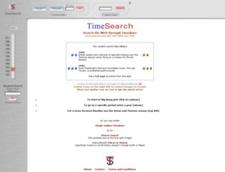 timesearch.info screenshot
