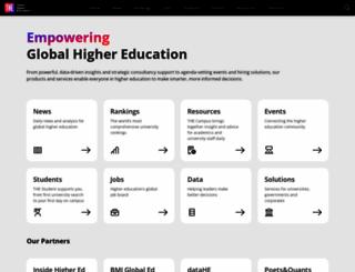 timeshighereducation.co.uk screenshot