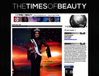 timesofbeauty.com screenshot