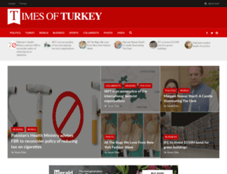 timesofturkey.com screenshot